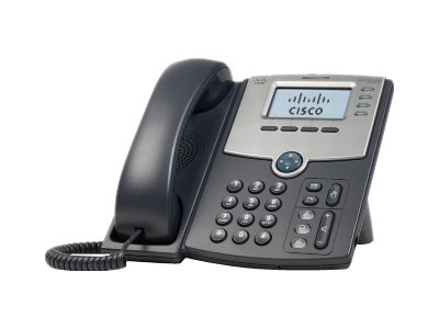 Cisco Small Business SPA 504G - VoIP phone - 3-way call capability