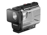 Sony MPK-UWH1 - Marine case for camcorder - for Action Cam-FDR-X3000, FDR-X3000R, HDR-AS300, HDR-AS50, HDR-AS50R