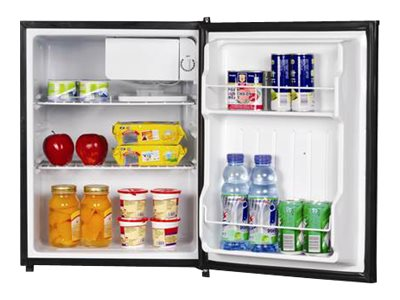 Magic Chef MCBR240B1 Refrigerator with freezer compartment freestanding width: 17.5 in