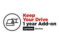 Lenovo Keep Your Drive Add On - Extended service agreement - 1 year - for ThinkBook 13; 14; 15; ThinkPad E14; E15; E48X; E49X; E58X; E59X
