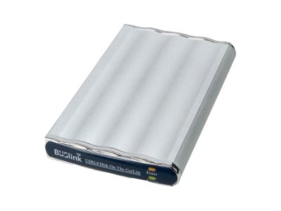 BUSlink Disk-On-The-Go DL-250-U2 External Slim Drive - hard drive - 250 GB - USB 2.0