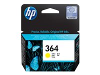 HP 364 Yellow Ink Cartridge with Vivera Ink, HP 364 Yellow Ink C