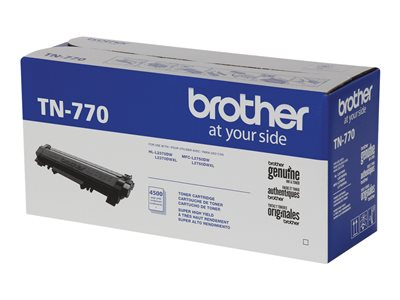 Brother TN-770 Super High Yield black original toner cartridge