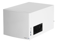 Fractal Design Node 304 - Desktop - mini ITX - no power supply (ATX) - white - USB/Audio