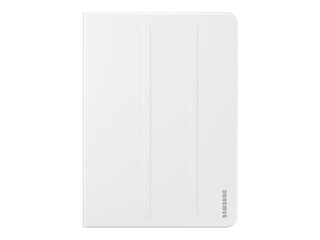Samsung Book Cover EF-BT820 - Protection à rabat pour tablette - blanc - pour Galaxy Tab S3