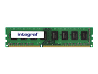 Integral - DDR3 - 8 GB - DIMM 240-pin - 1600 MHz / PC3-12800 - CL11 - 1.35 V - unbuffered - non-ECC
