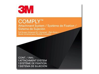 3M Comply Attachment Set Full Screen Universal Notebook privacy filter 11.6INCH-15.6INCH bl
