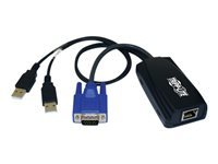 Tripp Lite USB (2) Server Interface Unit Virtual Media KVM Switch HD15 USB RJ45