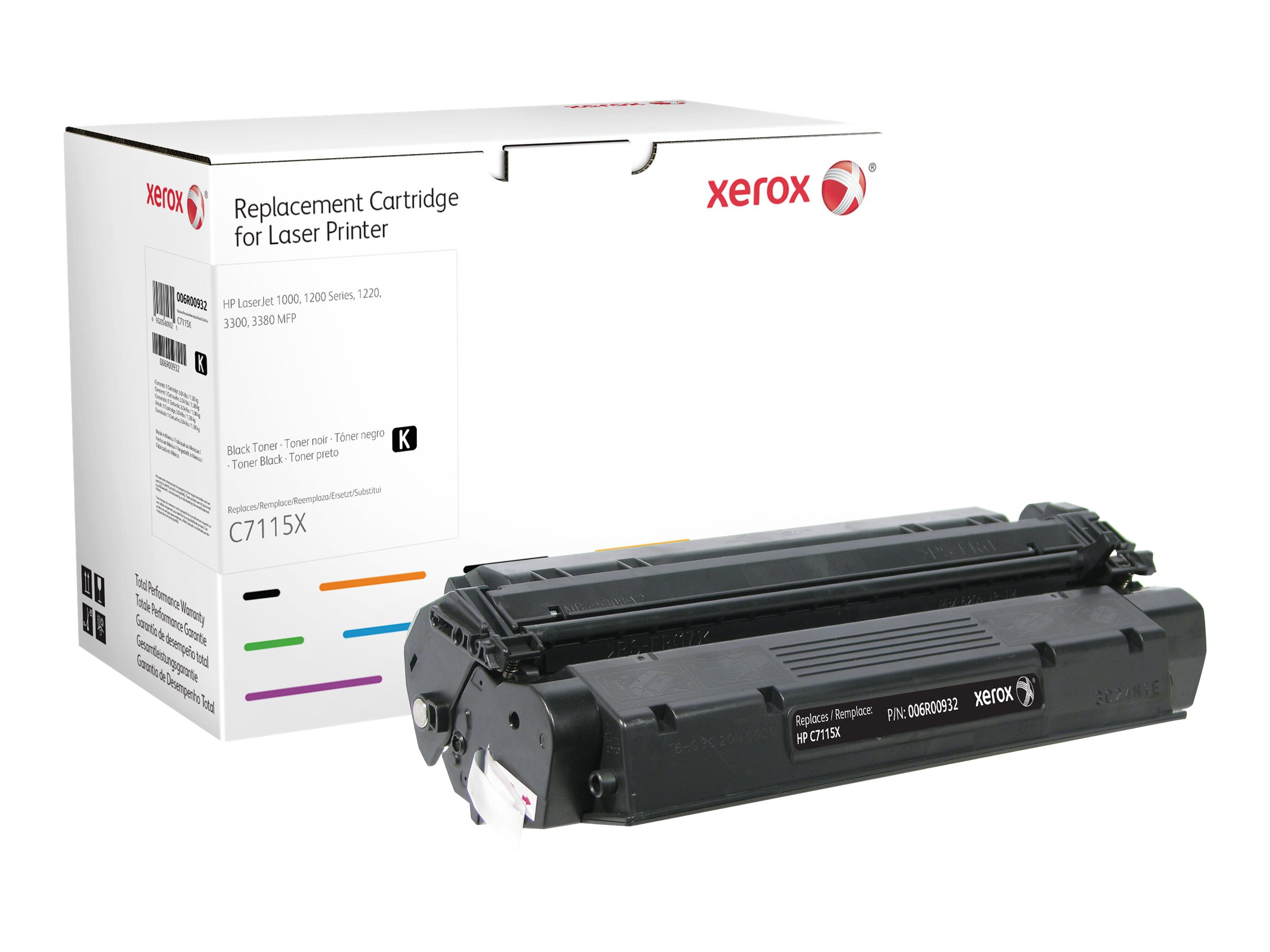 Xerox - black - toner cartridge (alternative for: HP 15X)