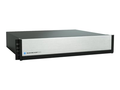 Milestone Husky M500 Advanced NVR 512 channels 16 TB networked 2U rack-mountable