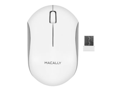 Macally RFQMOUSE Mouse right and left-handed optical 3 buttons wireless RF
