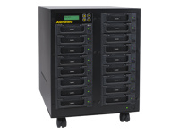 Aleratec 1:16 HDD Copy Cruiser IDE/SATA High-Speed WL - Hard drive duplicator - 16 bays (IDE / SATA)