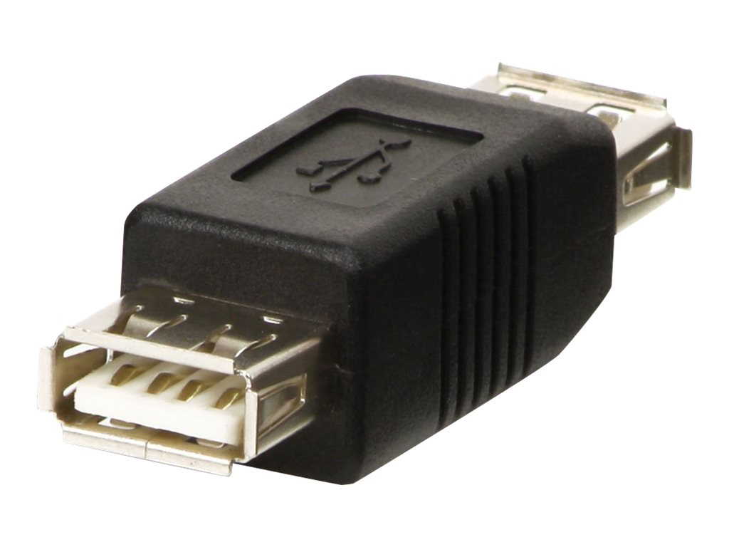Lindy - Gender Changer USB - USB (W) bis USB (W) - Schwarz