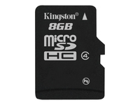 Kingston - Flash memory card - 8 GB - Class 4 - microSDHC