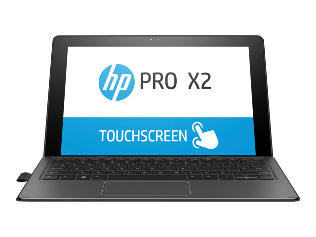 "HP Pro x2 612 G2 - Tablette - avec clavier détachable - Core i5 7Y54 / 1.2 GHz - Win 10 Pro 64 bits - 4 Go RAM - 256 Go SSD SED, TCG Opal Encryption 2, TLC - 12"" écran tactile 1920 x 1280 - HD Graphics 615 - Wi-Fi, Bluetooth"