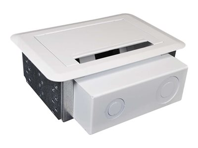 C2G Wiremold Evolution(TM) Series Double Gang Wall Box (TAA Compliant) Surface mount box
