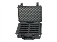 WiebeTech Hard-shelled Waterproof Case Storage drive carrying case cap