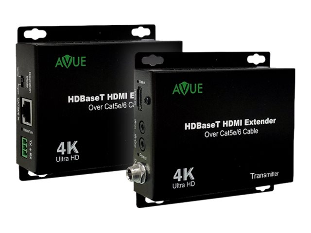 AVUE HDMI-EX250 - transmitter and receiver - video/audio/infrared extender - HDMI, HDBaseT, infrared