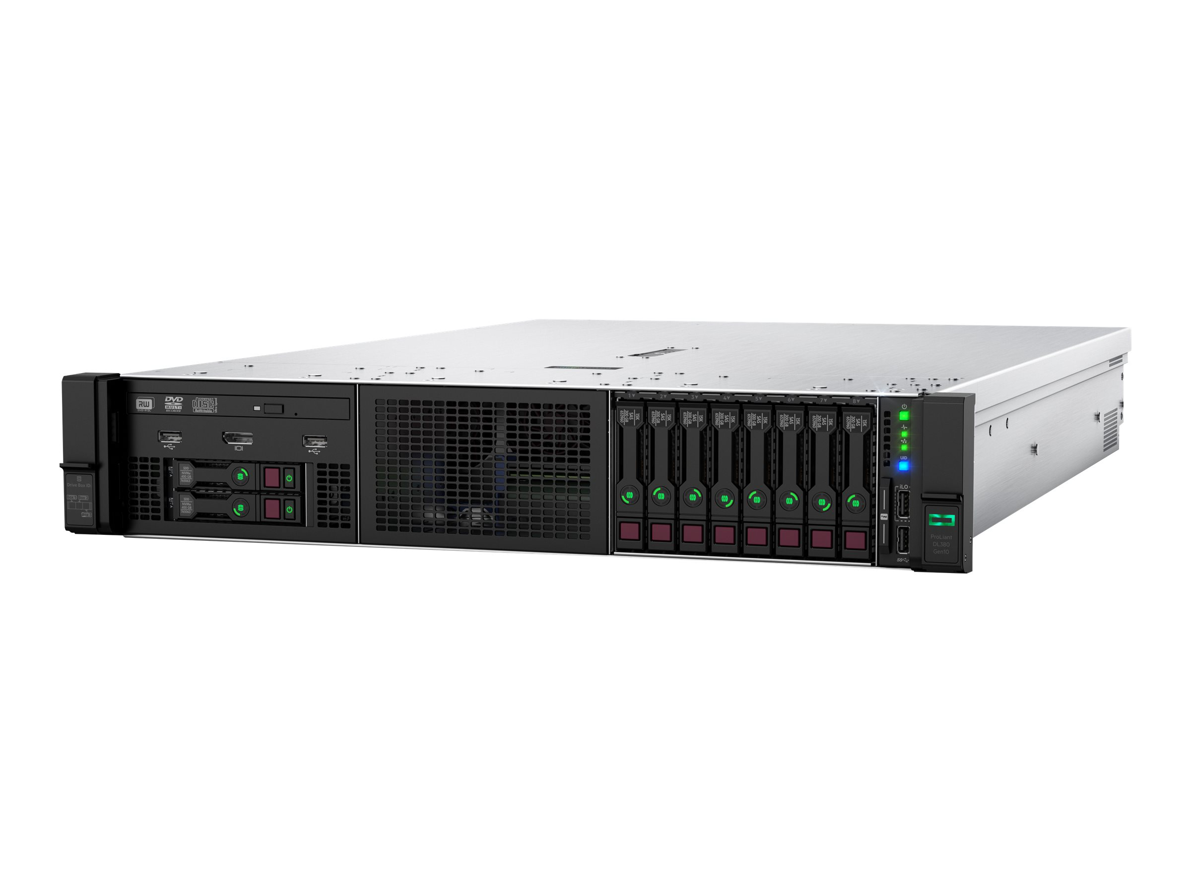 HPE ProLiant DL380 Gen10 - rack-mountable - Xeon Gold 6242 2.8 GHz - 32 GB - no HDD