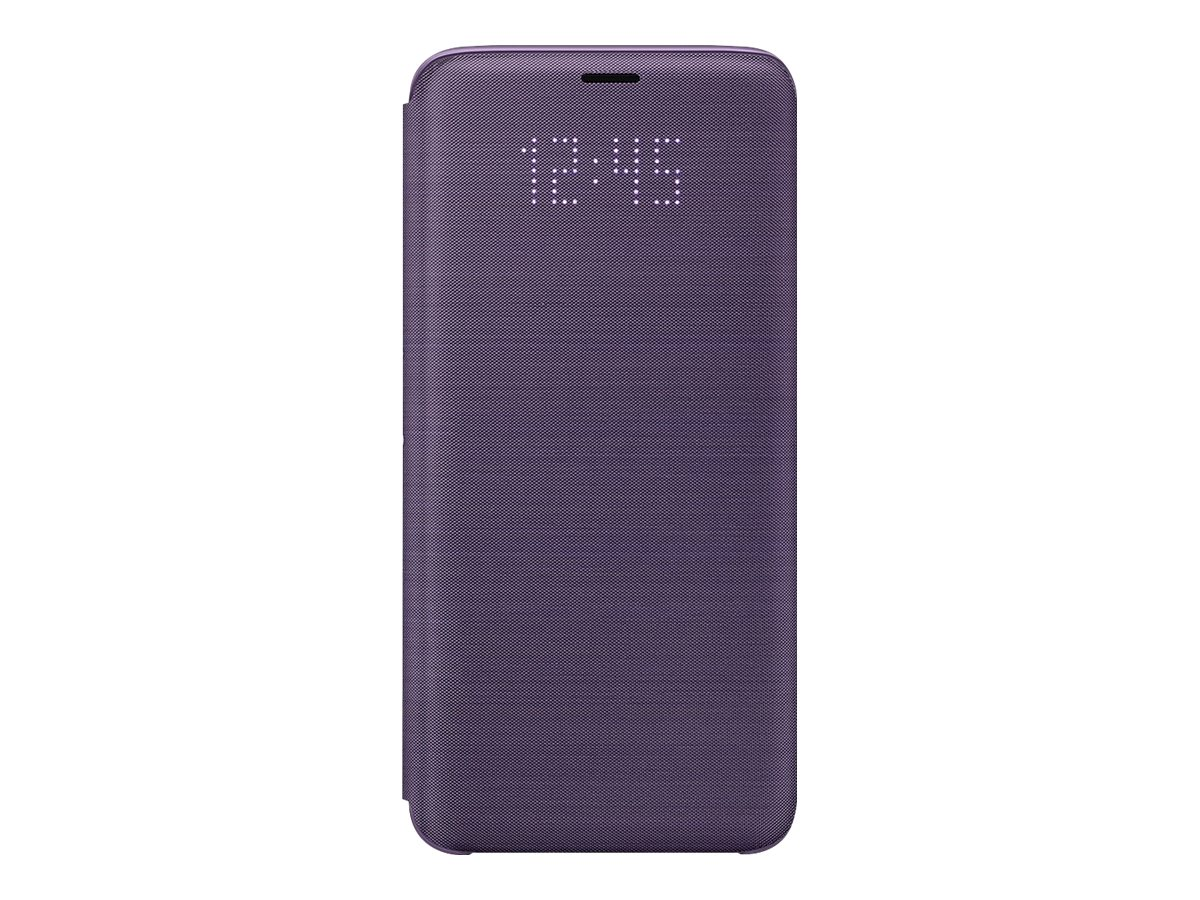 Samsung LED Wallet Cover EF-NG960 - flip cover for cell phone