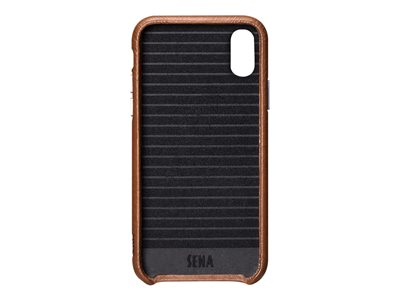 Sena Dean Leatherskin Snap On - back cover for cell phone