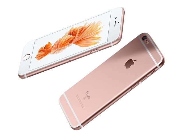 Apple iPhone 6s Plus - rose gold - 4G LTE - 128 Go - TD-SCDMA / UMTS / GSM - smartphone