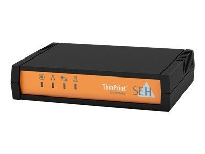 SEH ThinPrint Gateway TPG-25 - Druckserver - 10Mb LAN, USB, 100Mb LAN, GigE, USB 2.0