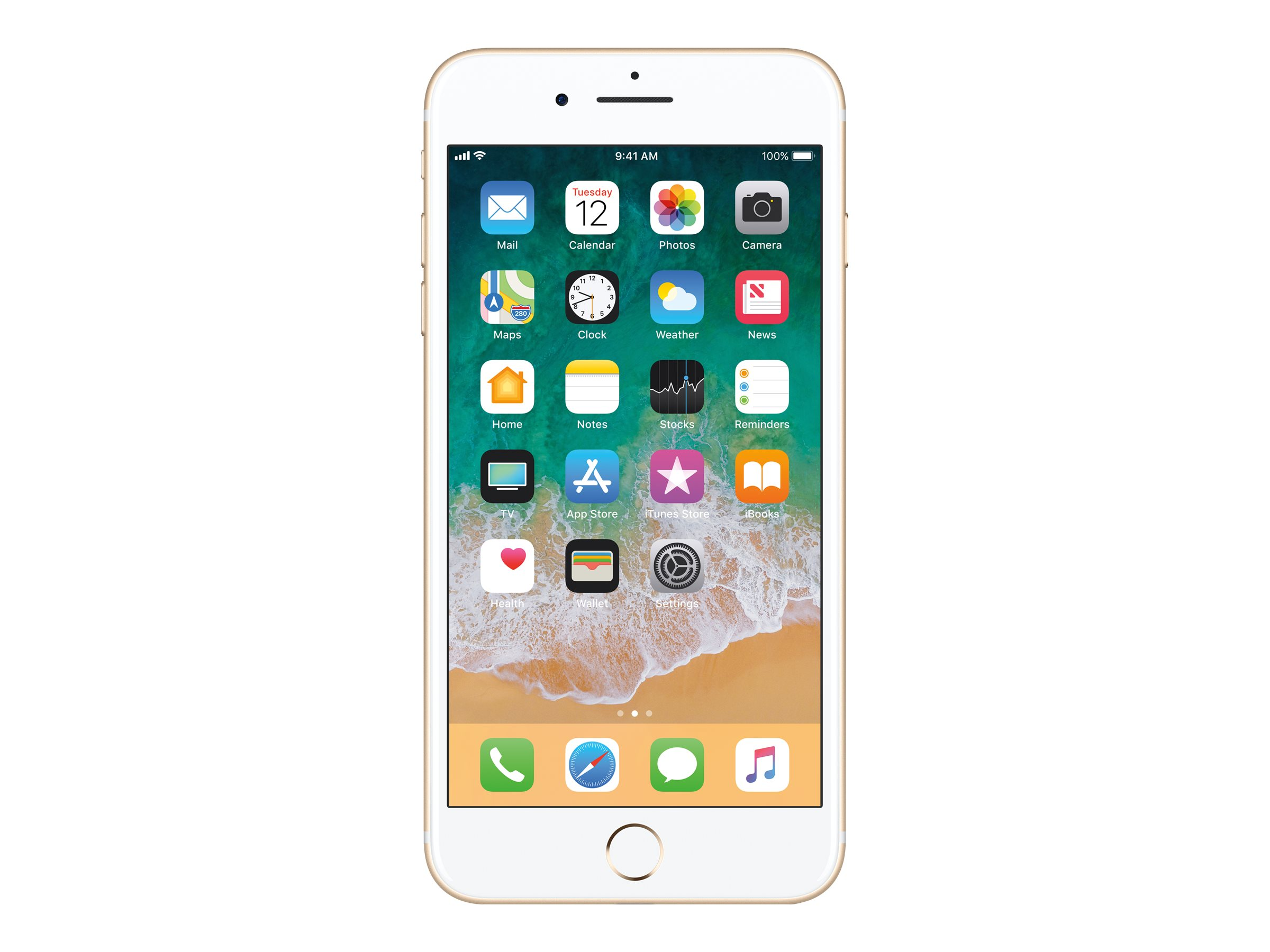 Apple iPhone 7 Plus - gold - 4G - 256 GB - GSM - smartphone
