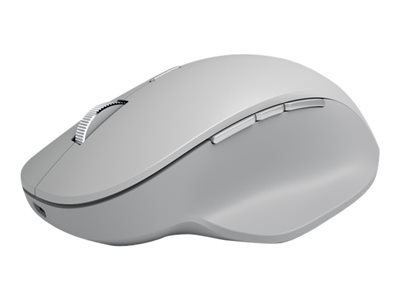 Surface Precision Mouse - Maus - USB, Bluetooth 4.0 - Hellgrau