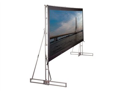 Draper Truss-Style Cinefold 16:9 HDTV Format Projection screen 220INCH (220.1 in) 16:9