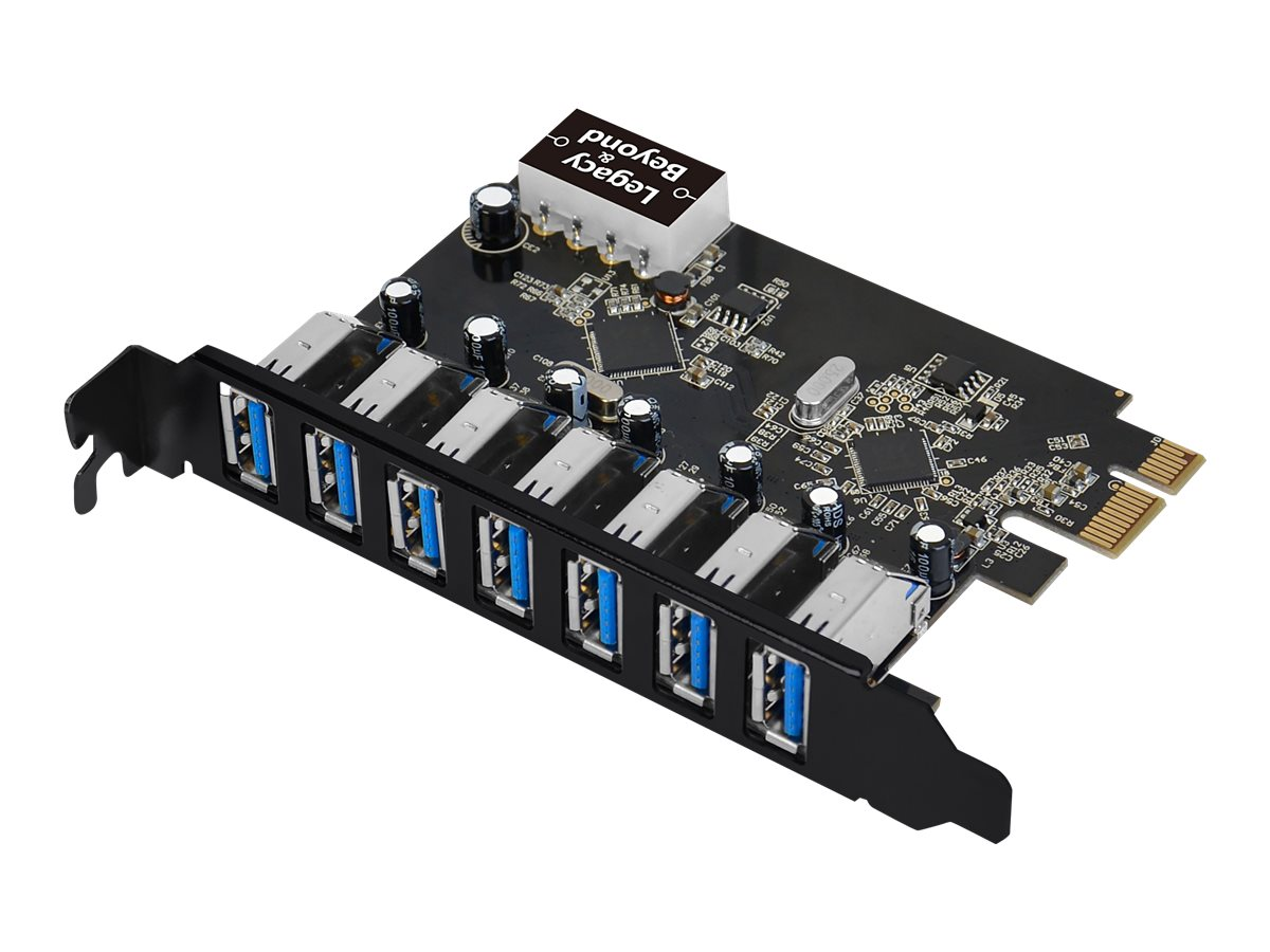 SIIG USB 3.0 7-Port Ext PCIe Host Adapter - USB adapter