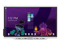 SMART Board 7075-V2 display with iQ 75INCH Diagonal Class LED display interactive