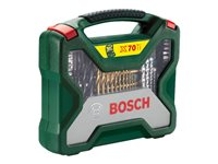 Bosch X-Line Titanium - Screwdriver, drill bit and socket set