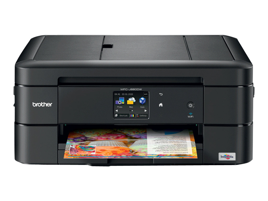 Brother MFC-J680DW - Multifunktionsdrucker - Farbe - Tintenstrahl - Legal (216 x 356 mm) (Original) - A4/Letter (Medien)