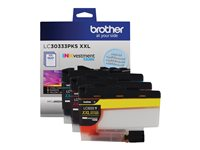 Brother LC-30333PKS 3-pack Super High Yield yellow, cyan, magenta original