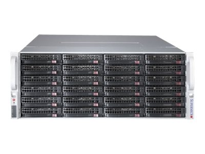 Supermicro SC847 BE2C-R1K28LPB - rack-mountable - 4U - enhanced extended ATX