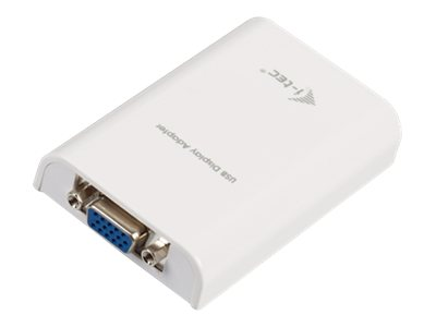i-Tec USB Display Adapter VGA - Externer Videoadapter - USB 2.0 - D-Sub