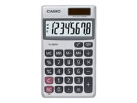 Casio SL-300SV Pocket calculator 8 digits solar panel, mem
