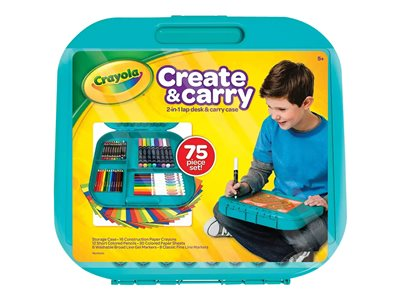 Crayola Create & Carry Colored pencil, crayon and marker se