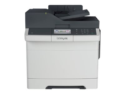 Lexmark CX410de - Multifunktionsdrucker - Farbe - Laser - Legal (216 x 356 mm) (Original) - Legal (Medien)