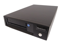 Quantum LTO-5 HH - Tape drive - LTO Ultrium (1.5 TB / 3 TB) - Ultrium 5 - SAS-2 - external - encryption - with SAS HBA, Deduplication Software