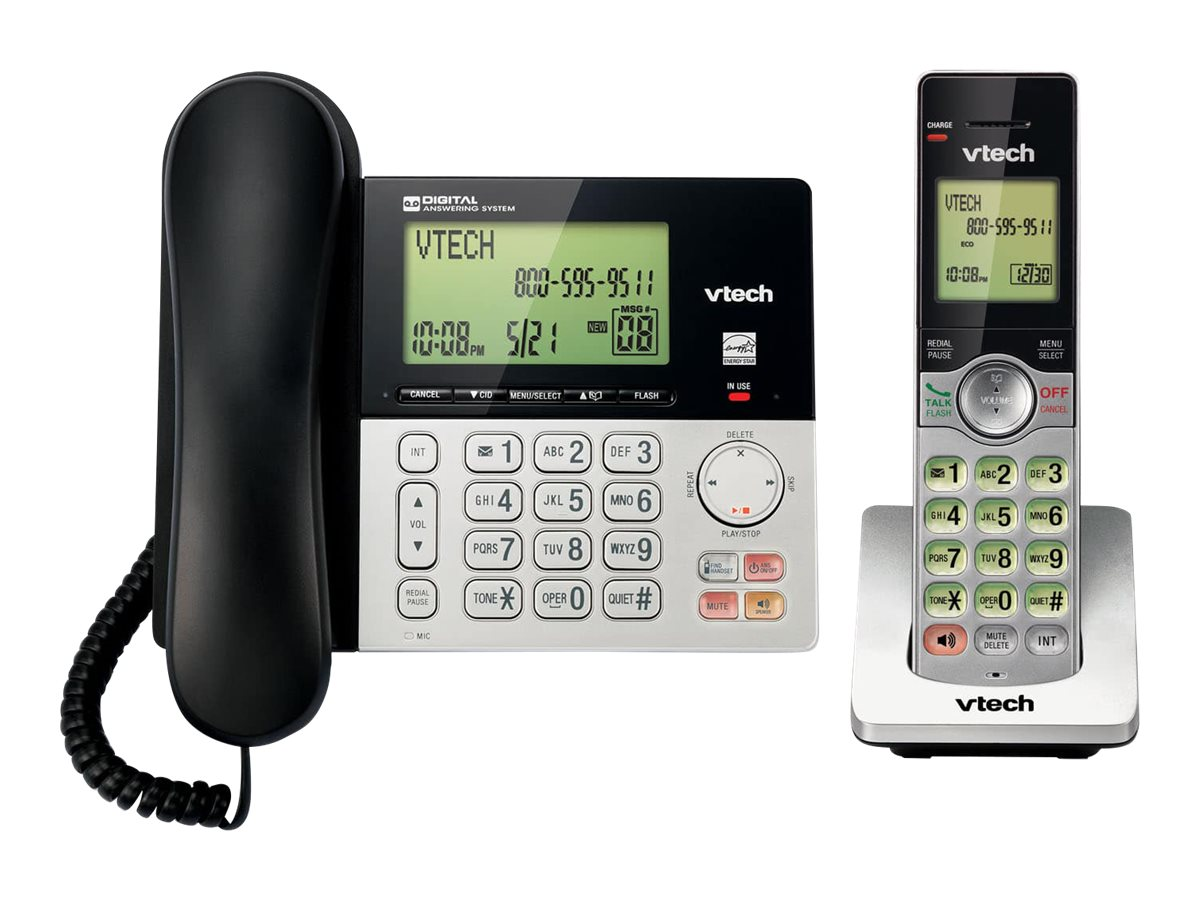 VTech CS6949 - corded/cordless - answering system with caller ID/call waiting + additional handset