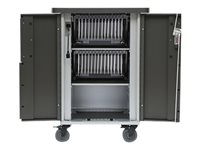 Bretford Ever Cart AC, w/270° front doors, w/Rear Door