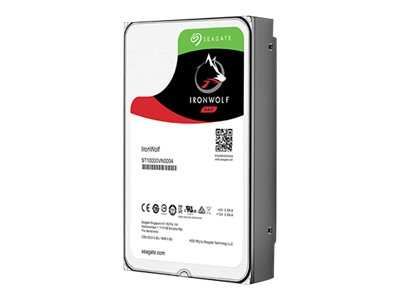 Seagate IronWolf ST4000VN008 Hard drive 4 TB internal 3.5INCH SATA 6Gb/s 5900 rpm