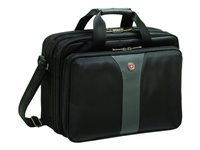 Wenger LEGACY 16INCH Double Gusset Laptop Case Notebook carrying case 16INCH black gray