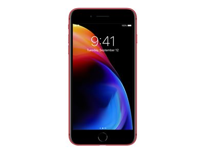 Apple iPhone 8 - (PRODUCT) RED Special Edition - mattrød - 4G LTE, LTE Advanced - 64 GB - GSM - smartphone