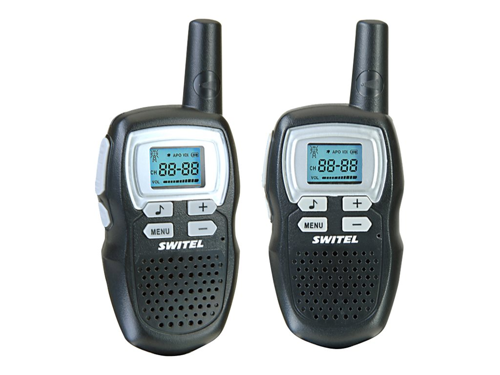 SWITEL WTE 2310 - Tragbar - Two-Way Radio - PMR - 8 Kanäle (Packung mit 2)