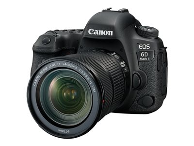 Canon EOS 6D Mark II Digital camera SLR 26.2 MP Full Frame 1080p / 60 fps