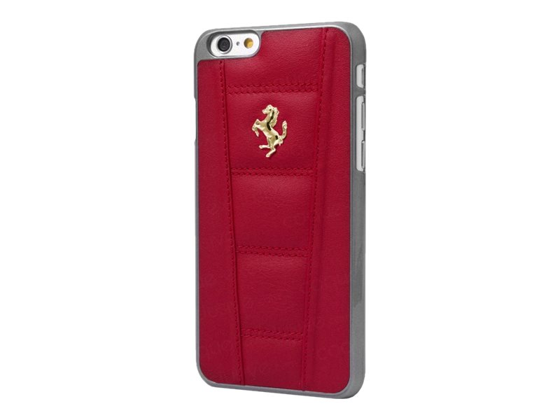 ferrari coque de protection pour iphone 6 rouge coques iphone. Black Bedroom Furniture Sets. Home Design Ideas