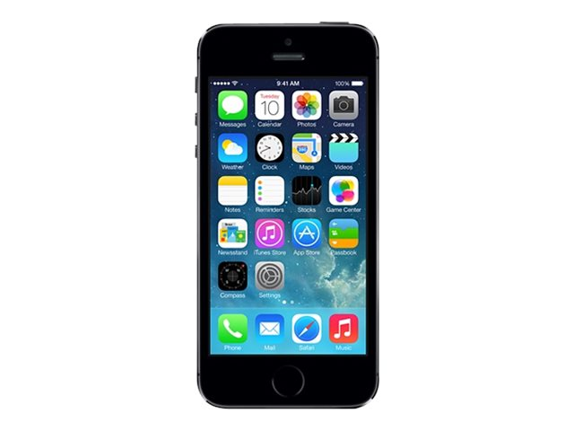 apple iphone 5s smartphone reconditionn 4g 16 go gris sid ral smartphones reconditionn s. Black Bedroom Furniture Sets. Home Design Ideas